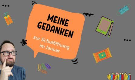 """Header zum Text """"Meine Gedanken zur Schulöffnung im Januar"""""""